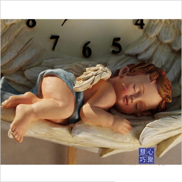 特價 睡天使搖擺靜音掛鐘