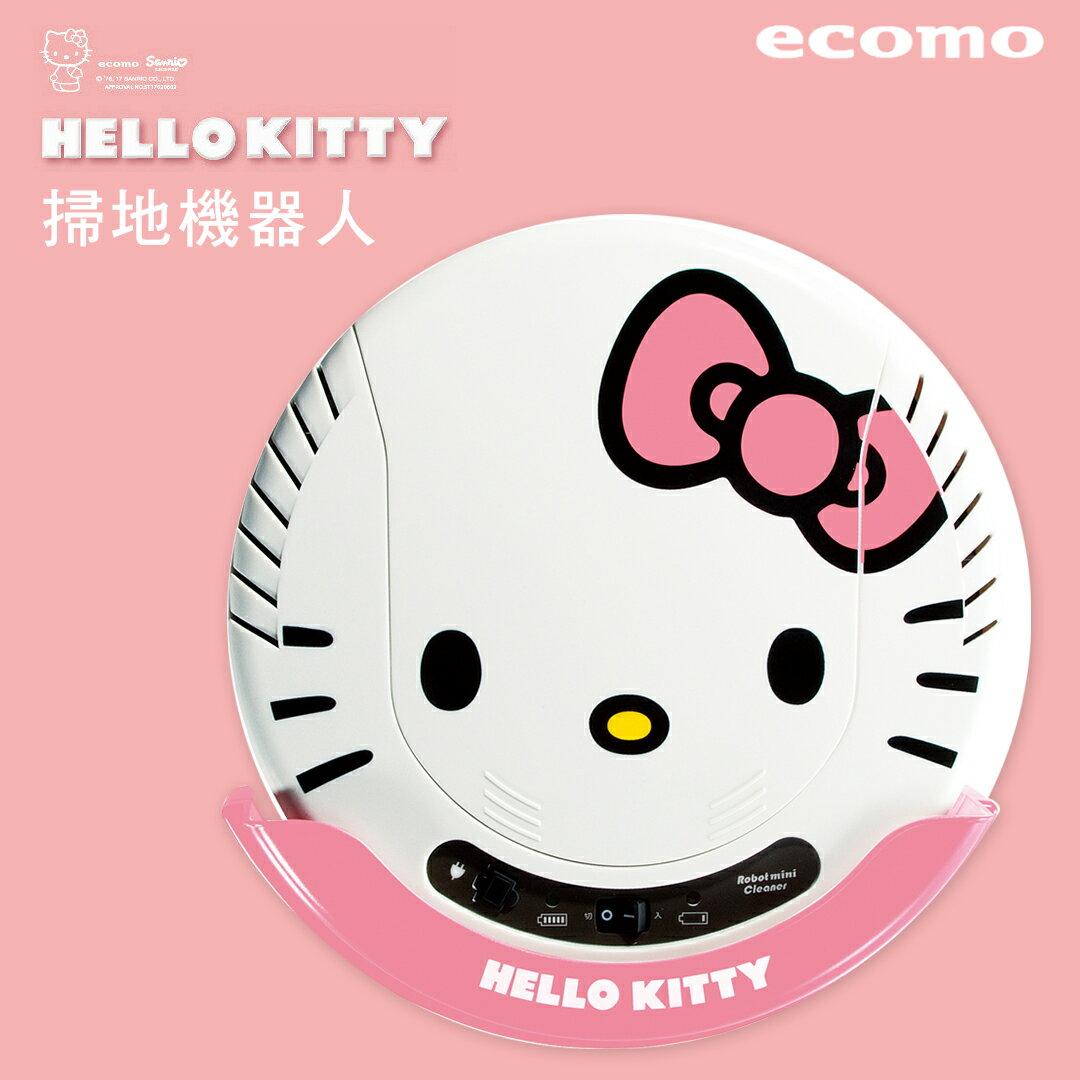 <br/><br/>  【 dayneeds 】ECOMO Hello Kitty 掃地機器人【AIM KTR01】吸塵器<br/><br/>