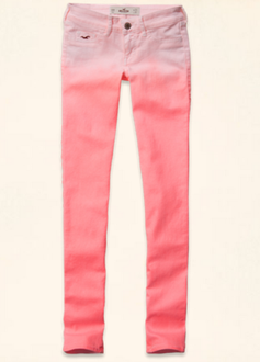 【LA STORES】HOLLISTER(女) 低腰SUPPER SKINNY 長褲