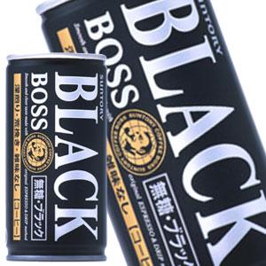 SUNTORY三得利 BOSS經典黑咖啡 185g | サントリー ボス 無糖ブラック