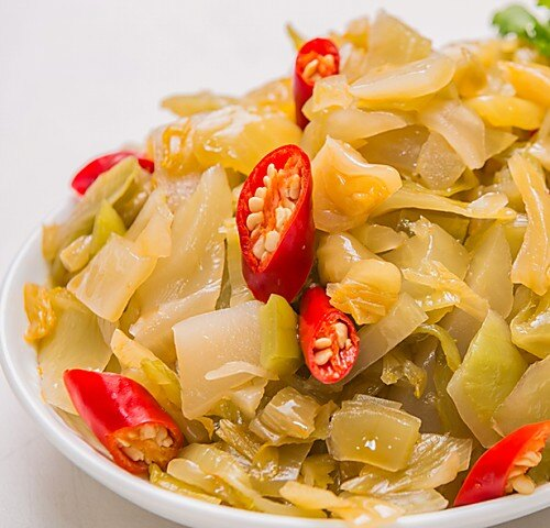 涼拌酸菜 350g±10g /份 【江記一塊豆干】特製開胃的私房涼拌酸菜