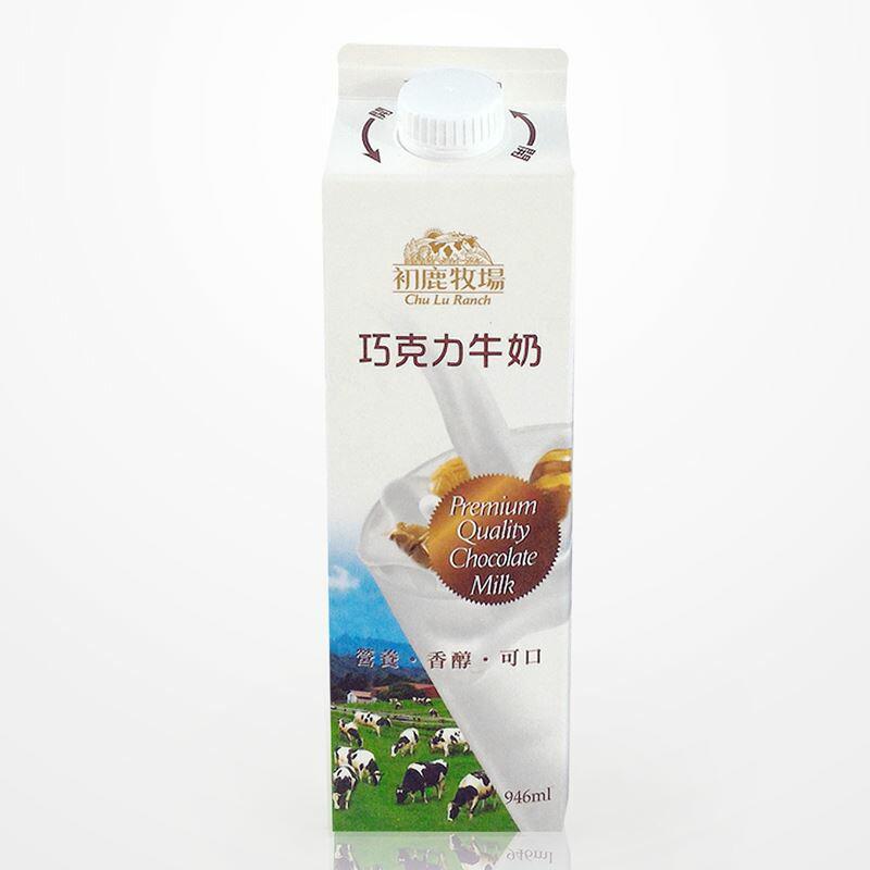 初鹿牧場 巧克力牛奶(946ml/瓶) 1