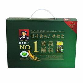 桂格漢補天地養氣人蔘禮盒 8入【合康連鎖藥局】