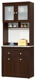【尚品傢俱】HY-A424-05布雷克2.7尺石面餐櫃(可單買下座)~~另有木面餐櫃~~