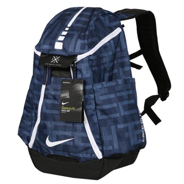 NIKEHoopsEliteMaxAirTeam2.0後背包雙肩籃球藍【運動世界】BA5260-491