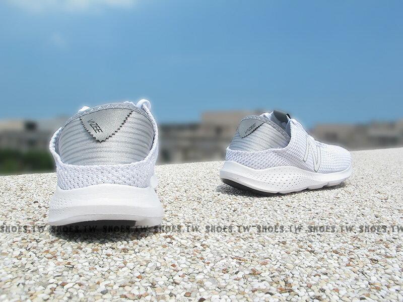 《下殺6折》Shoestw【WCOASAC2】NEW BALANCE 慢跑鞋 全白 編織 女生尺寸 NB 2