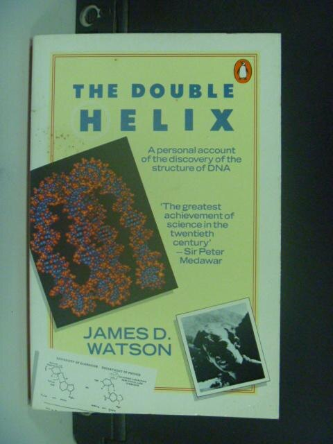 【書寶二手書T7/原文書_HHE】The Double Helix_James D. Watson