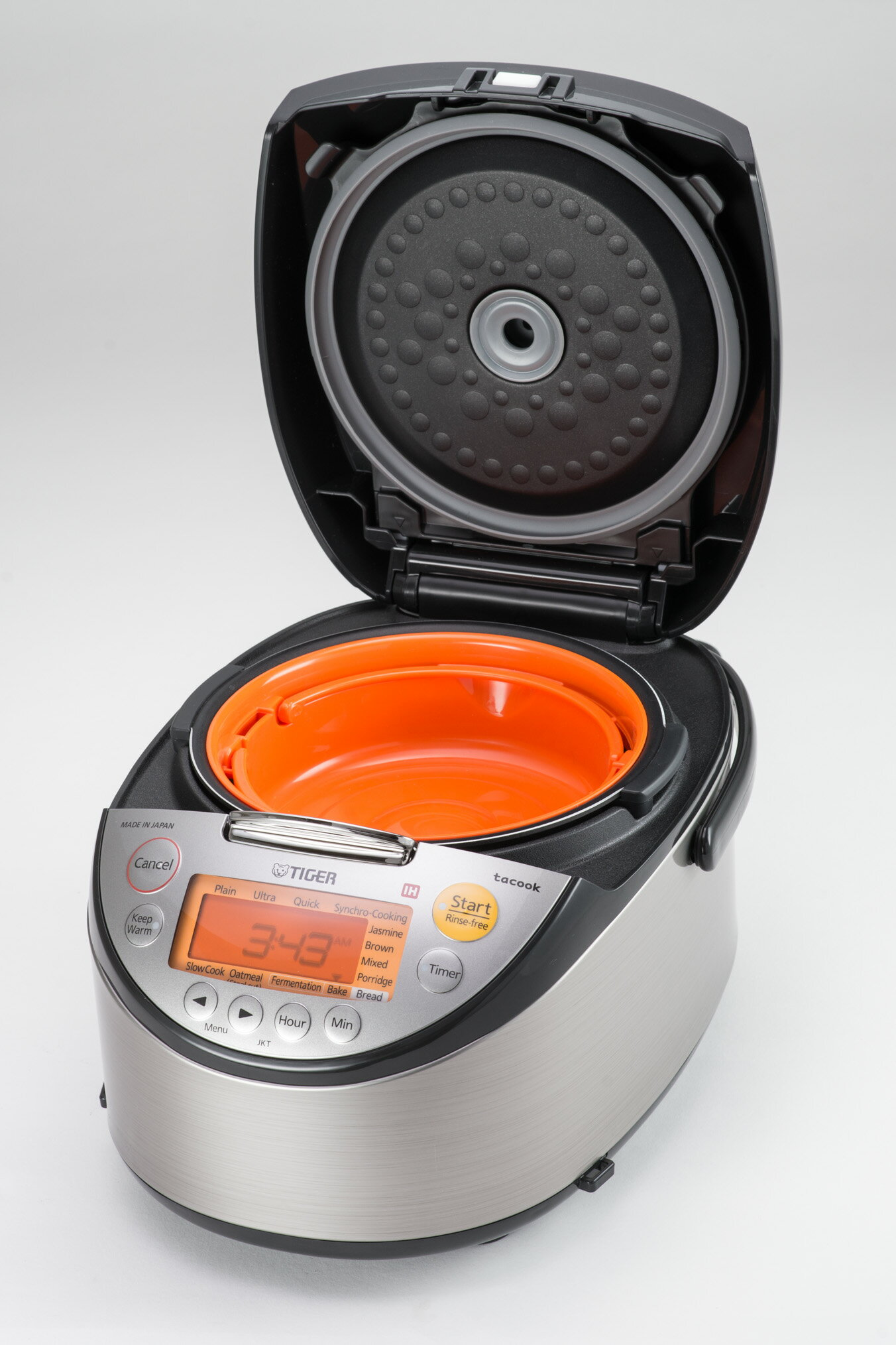 Tiger Corporation Jkt S Series Induction Heating Multi Functional Rice Cooker With Tacook Plate 2