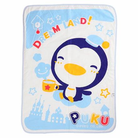 Puku 藍色企鵝 兒童涼被 (水藍)【悅兒園婦幼生活館】 0