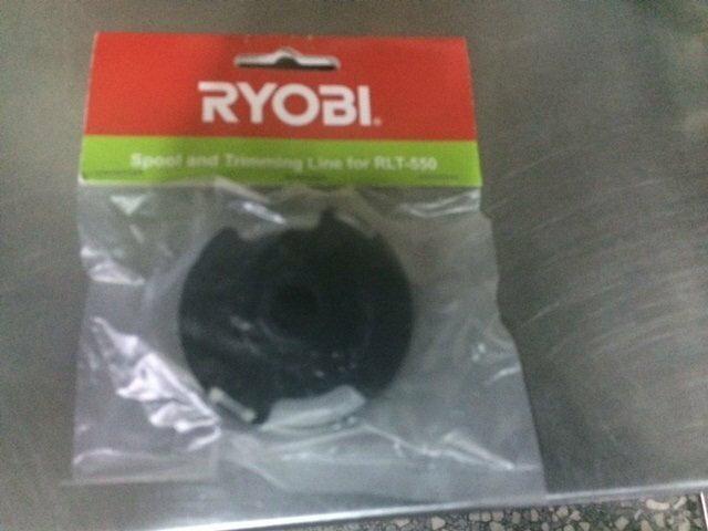 本品牌 RYOBI 良明 RLT-550 電動割草機 專用牛筋盤 牛筋繩 原廠 割草機尼龍繩盤組(含稅價)