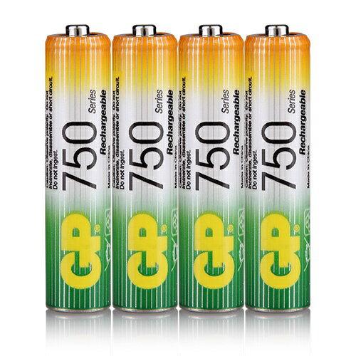 <br/><br/>  {光華成功NO.1}GP低自放鎳氫充電池4號750mAh (4入) (BAT-GPB-750AAA-C4)  喔!看呢來<br/><br/>