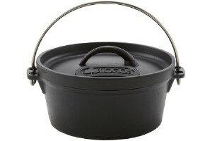 【露營趣】中和安坑 日本 LOGOS LG81062228 SL豪快魔法調理荷蘭鍋8吋 鑄鐵鍋 可電磁爐加熱