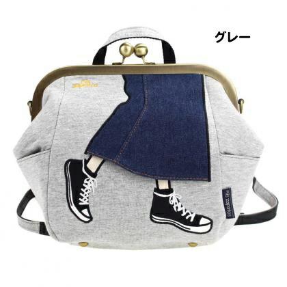 日本mis zapatos / 長裙x帆布鞋設計多功能休閒背包 / b6586 / 日本必買 日本樂天代購直送 8
