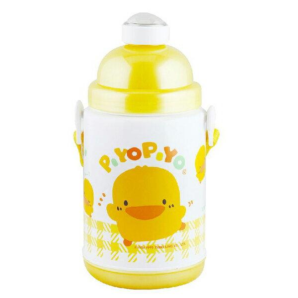 『121婦嬰用品館』黃色小鴨 彈跳保溫保冷水壺 375ml 0