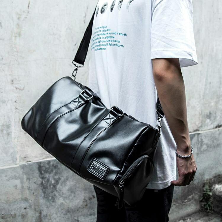 側背包 健身背包男運動訓練干濕分離手提包旅游出差旅行大容量行李袋男包