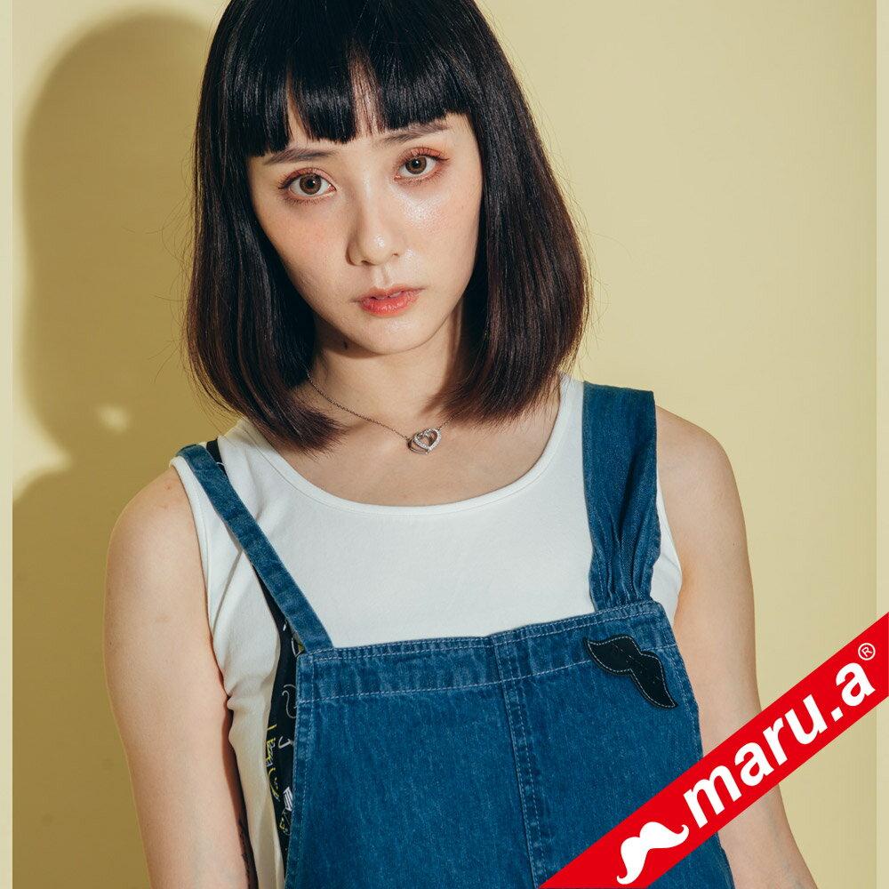【maru.a】超可愛蝴蝶結牛仔背心 8313122 5