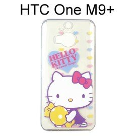 Hello Kitty 透明軟殼 [可愛] HTC One M9+ (M9 Plus)【三麗鷗正版授權】