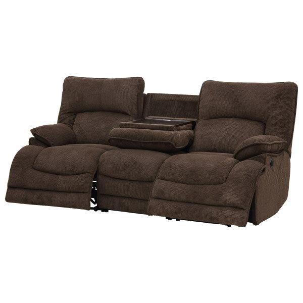 ◎布質3人用電動可躺式沙發 HIT 804 DBR NITORI宜得利家居 6
