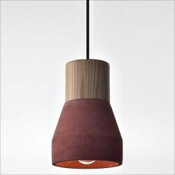 紅色原木水泥吊燈(PS32247) / H&D / 日本MODERN DECO