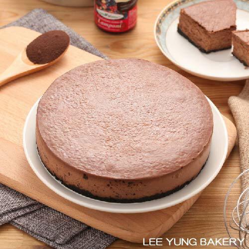 【里洋烘焙】苦甜巧克力重乳酪蛋糕(6吋)