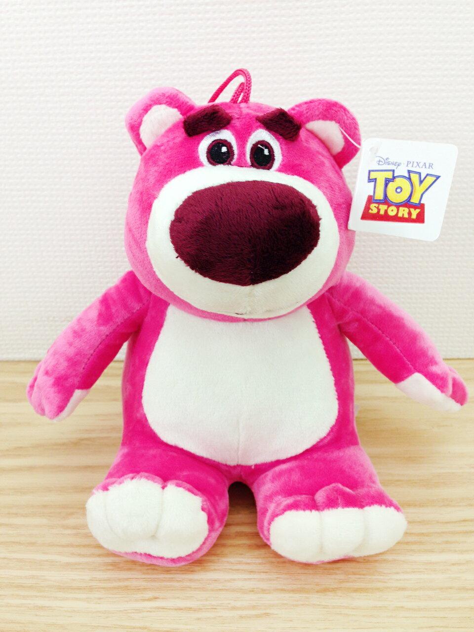 ~真愛 ~15102600013 6吋吊娃~熊抱哥坐姿 玩具總動員 熊抱哥 娃娃 吊娃 擺