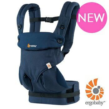美國【Ergo baby】360度 嬰兒揹帶-午夜藍 0