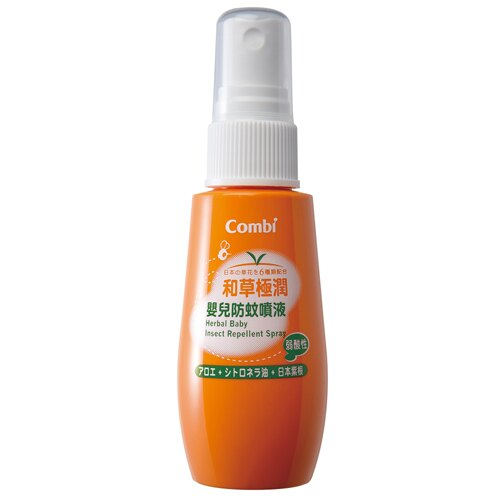 日本【Combi】和草極潤嬰兒防蚊噴液-60ml
