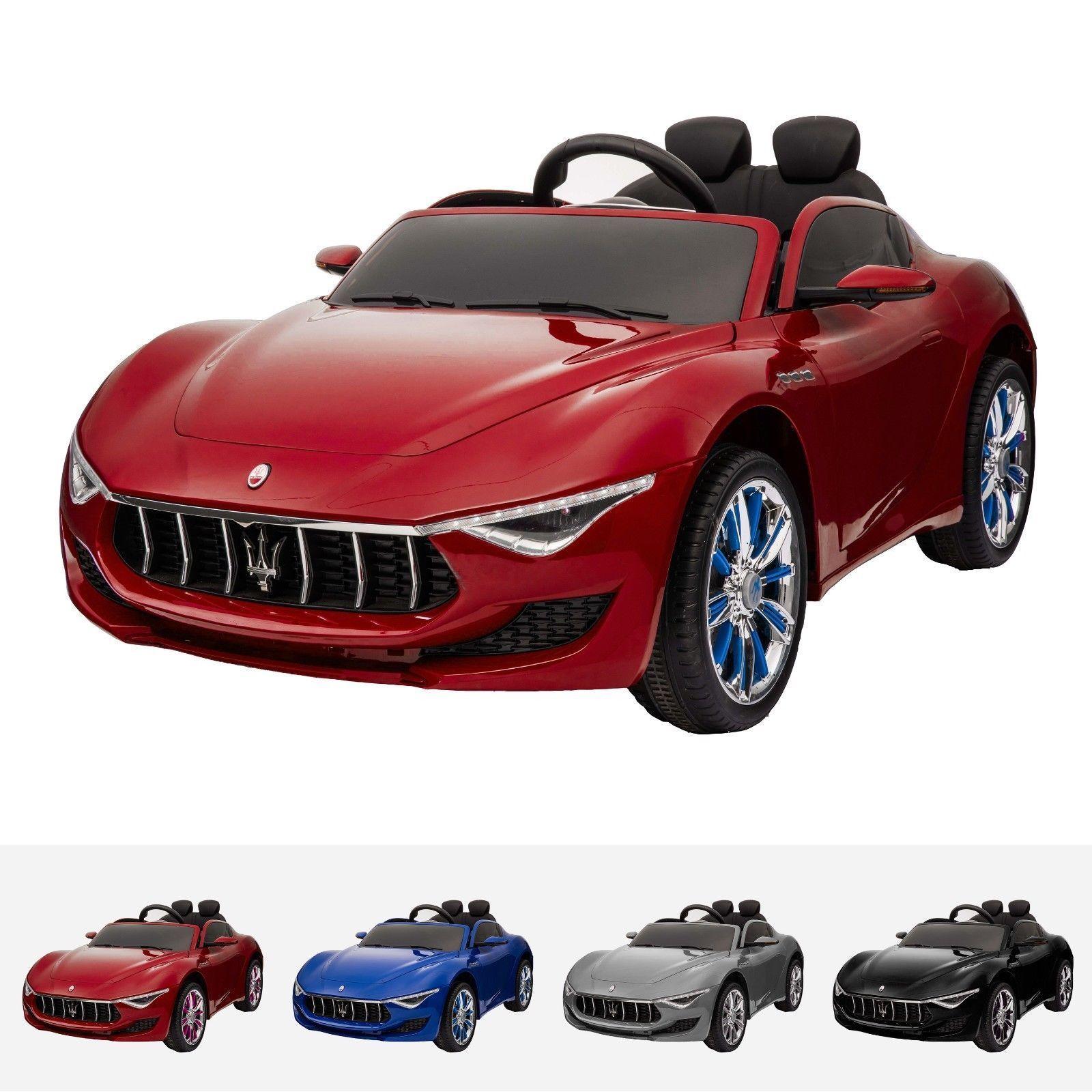 smartecom: maserati alfieri ride on toy car 12v remote mp4 touch