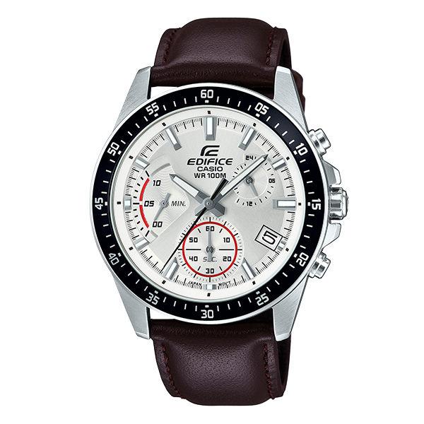 CASIO卡西歐EDIFICEEFV-540L-7A三針三眼時尚多功能腕錶44mm