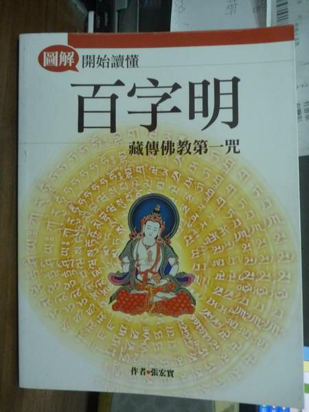 【書寶二手書T8/宗教_PMF】開始讀懂百字明_張宏實