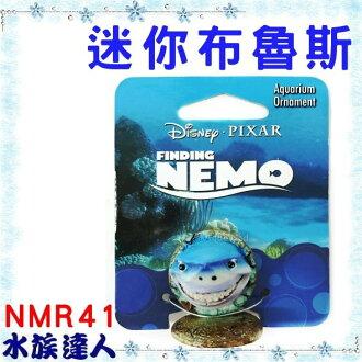 【水族達人】美國Disney迪士尼海底總動員《迷你布魯斯NMR41》PENN-PLAX 龐貝 裝飾品 公仔 授權販售
