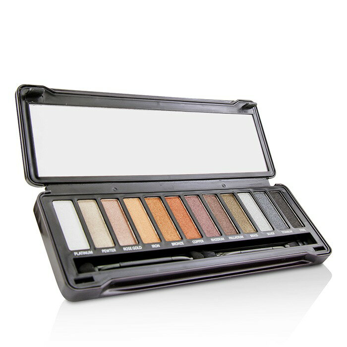BYS 眼影盤Eyeshadow Palette (12色眼影  刷具x2) - Metals 12g 0.42oz