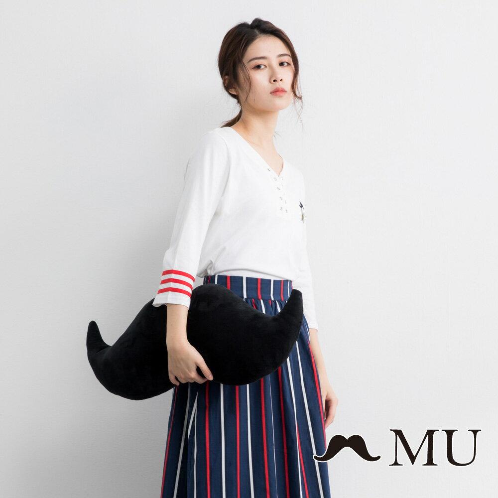 【MU】MU印花打孔上衣(2色)9321261 0