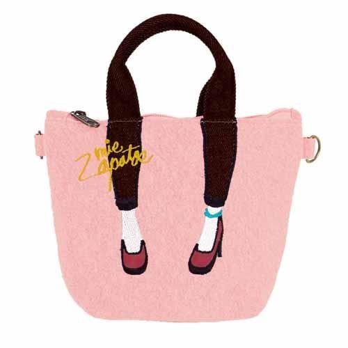 【真愛日本】16100600020  日本Mis Zapatos 數位萬用美腿包-粉   高跟鞋包 日本爆紅熱銷款 預購