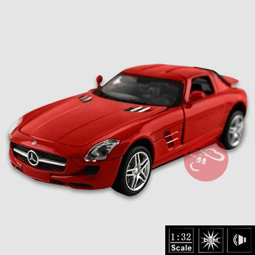 【瑪琍歐玩具】1:32授權合金車Mercedes-Benz SLS AMG
