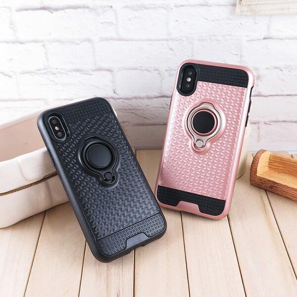 MiraviviiPhoneX3D磁鐵指環立架防撞保護殼套