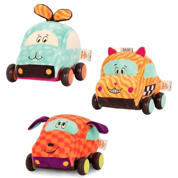 【奇買親子購物網】美國B.Toys迴力車(凱比貓酪梨兔芬達狗)