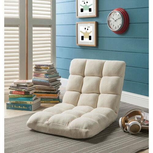 Loungie Microplush Recliner Chair - Folding Floor Mat