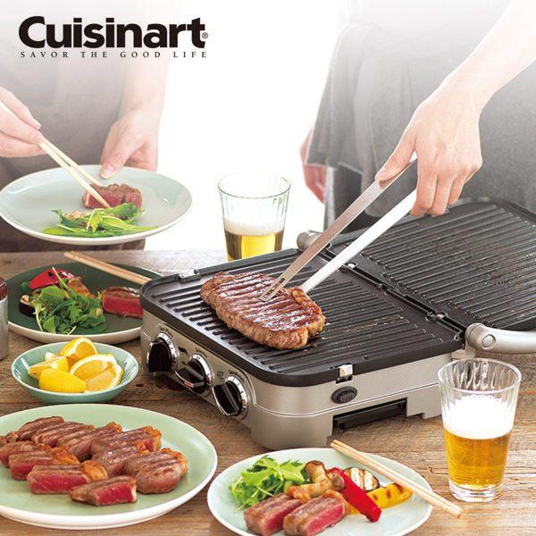 美國Cuisinart 美膳雅多功能燒烤 / 煎烤盤 GR-4NTW 0