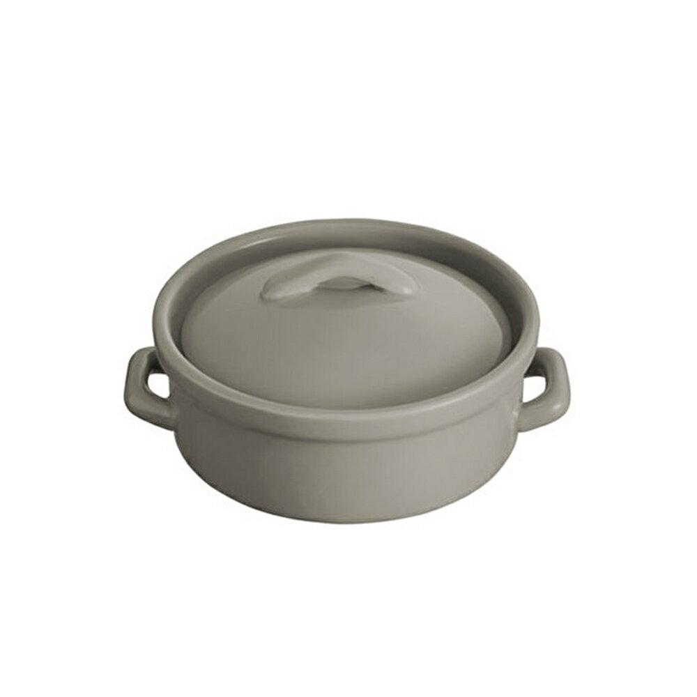 【日本BRUNO】mini圓形瓷鍋(共2色) (蒸汽燒烤箱配件) 2