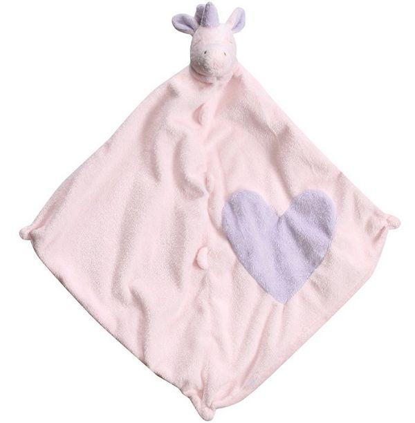 美國Angel Dear 動物嬰兒安撫巾 愛心獨角獸好窩生活節 - 限時優惠好康折扣