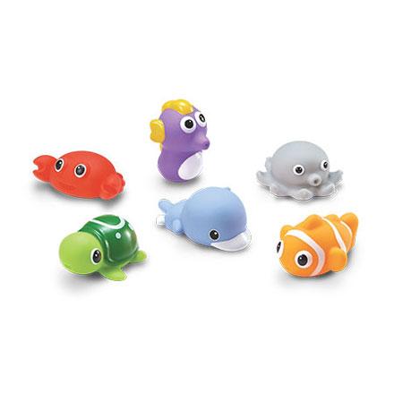 KU KU 酷咕鴨 水中玩具-海洋動物組【悅兒園婦幼生活館】