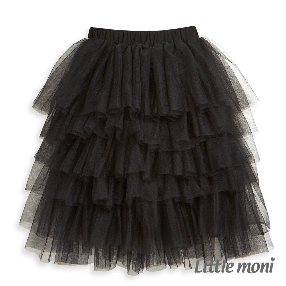 Little moni 網紗蛋糕裙-黑色(好窩生活節) 0