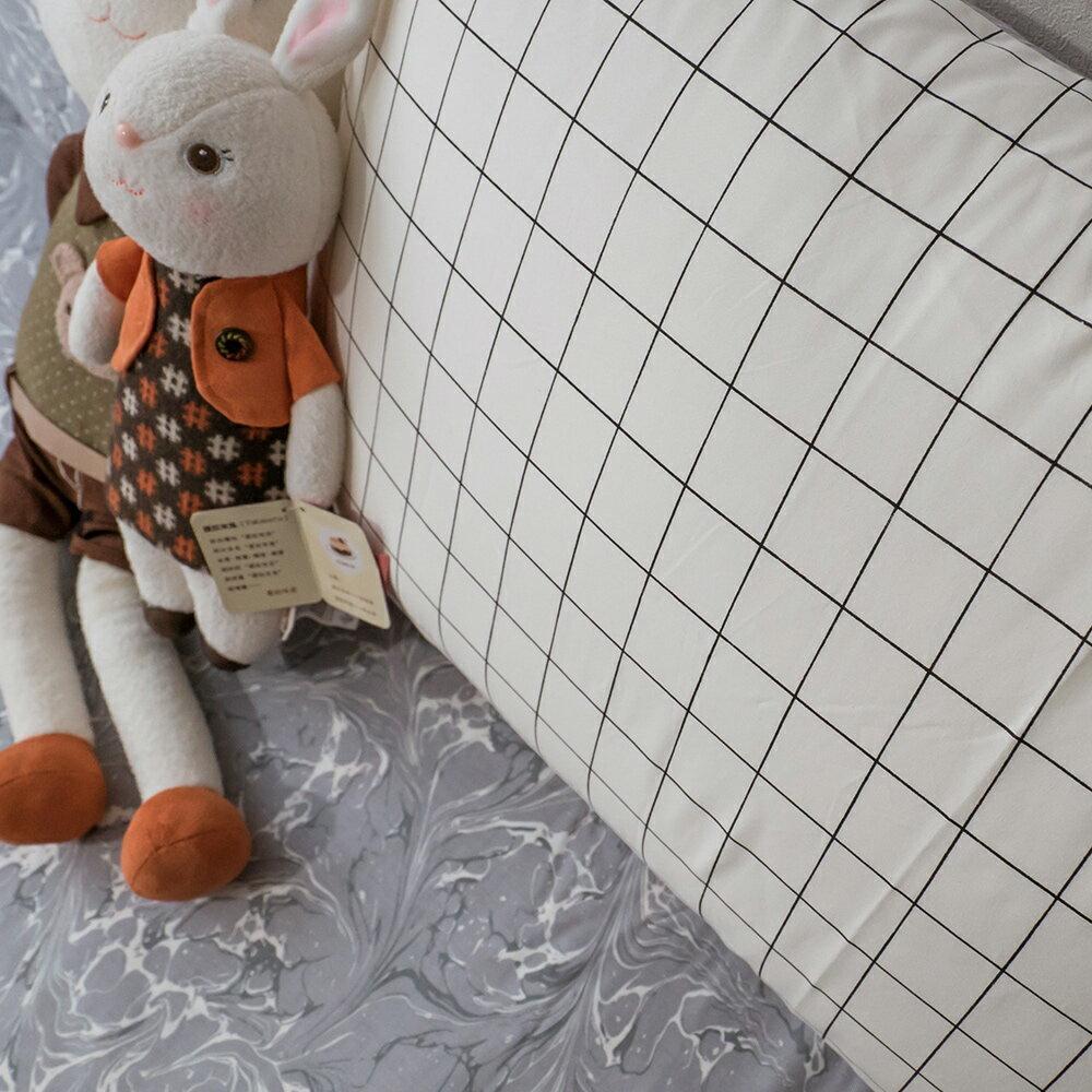精梳棉 單人 / 雙人床包+薄被套組 台灣製造 棉床本舖 6