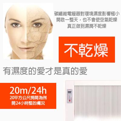 碳纖維電暖器- 950W 移動式