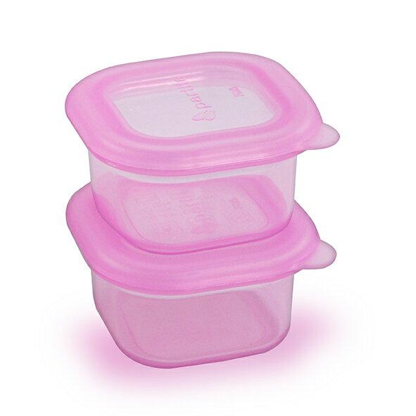 Partita 帕緹塔 矽膠保鮮盒100ml*2-粉