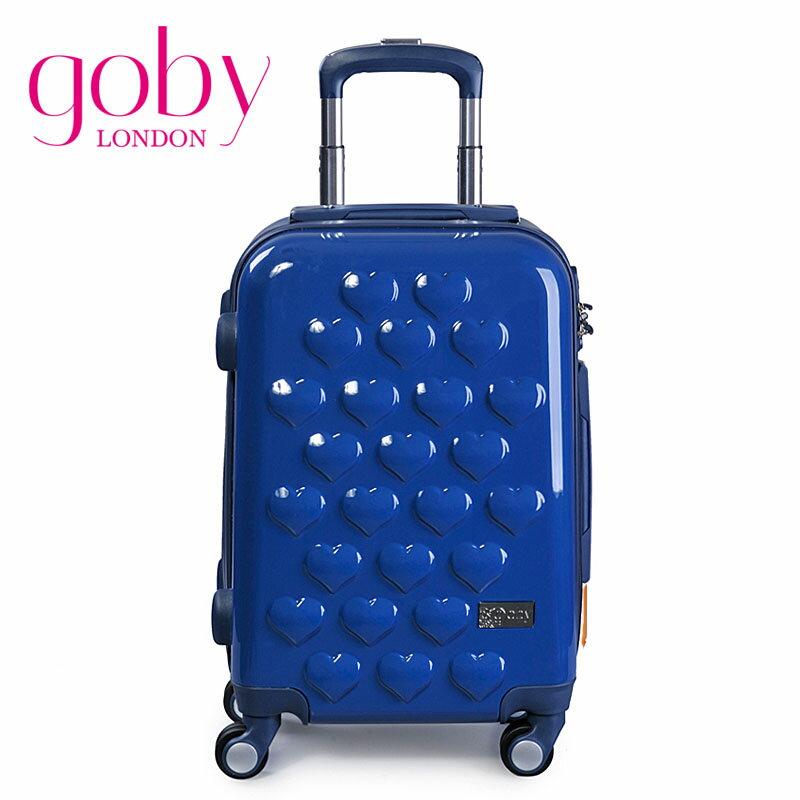 GOBY果比 City系列-20吋四輪硬殼登機行李箱拉桿箱-藍莓藍-C802 [禾雅時尚]
