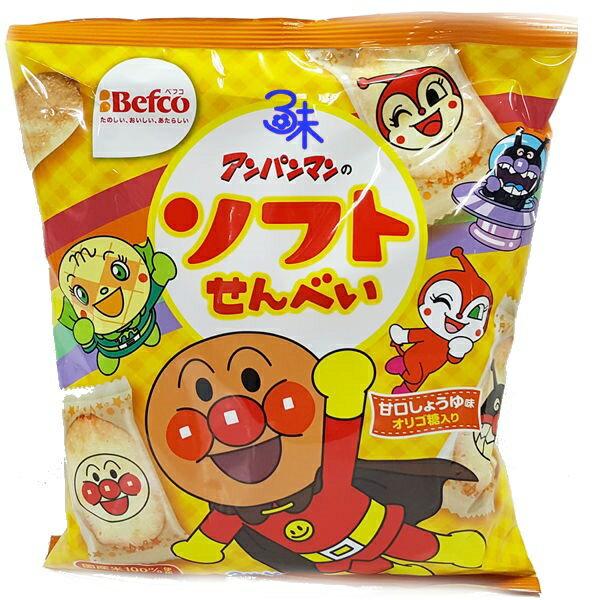 (日本) Befco 栗山32枚麵包超人米果 1包 102 公克 特價 85 元 【 4901336110530 】