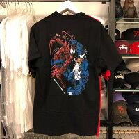 Marvel 男裝服飾推薦到BEETLE 現貨 BAIT X MARVEL VENOM CARNAGE TEE 毒液 血蜘蛛 黑色 短T 漫威就在BEETLE PLUS推薦Marvel 男裝服飾