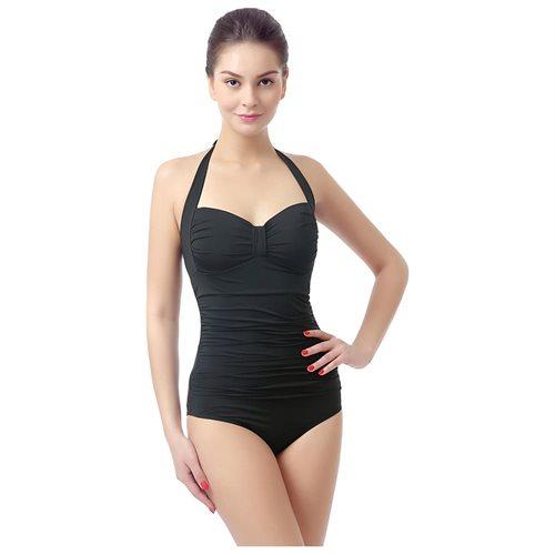 6e7c28443b61 phistic Women's UPF 50+ Missy & Plus Size One Piece Halter Swimsuit 0
